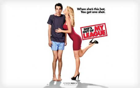 Jay Baruchel and Alice Eve - She's Out of My League Wallpaper