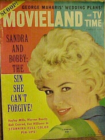 Sandra Dee - Movieland Magazine Cover [United States] (February 1962)