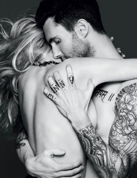 Adam Levine and Anne Vyalitsyna - Adam Levine, Anne Vyalitsyna - Vogue Magazine Pictorial [Russia] (November 2011)