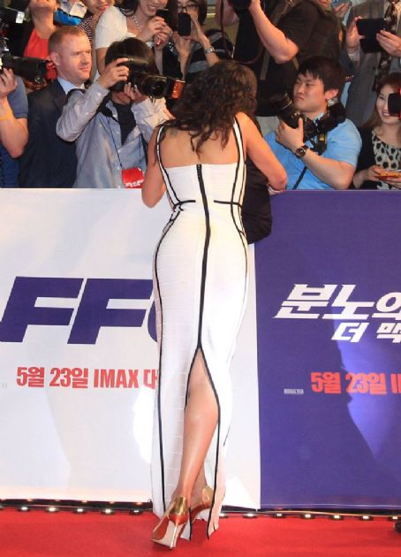 Michelle Rodriguez - 'Fast & Furious 6' Premieres in South Korea
