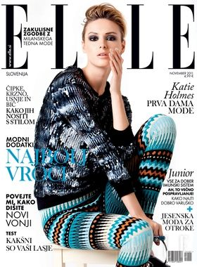 Elle Magazine Cover [Slovenia] (November 2011)