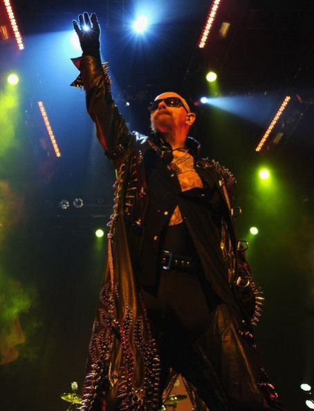 Rob Halford - Judas Priest Führt im Izod Center am 18. November 2011 in New Jersey