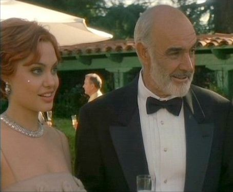 Sean Connery and Angelina Jolie