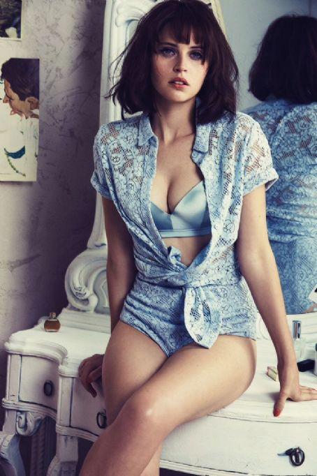 Felicity Jones Gq Magazine November 2014 Adds