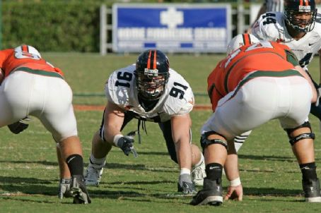 Chris Long  At The University Of Virginia