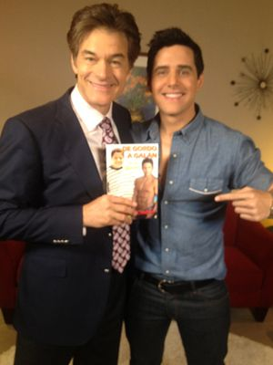 Alejandro Chaban Chosen by Dr Oz to Inspire Latin Youth