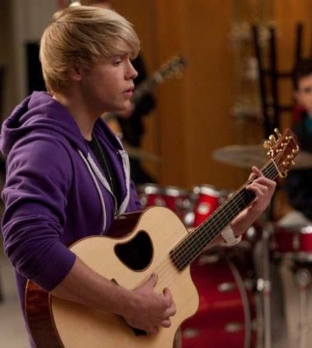 Chord Overstreet Sam () in Glee (2010)