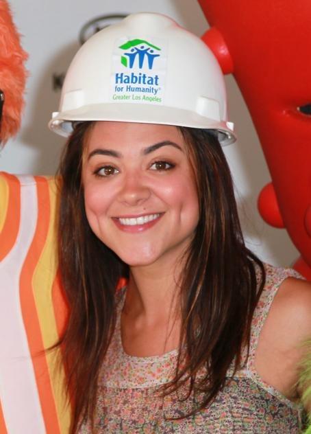 Camille Guaty - Yo Gabba Gabba! Helping To Build A Home For Habitat For Humanity On August 12, 2010 In Lynwood, California