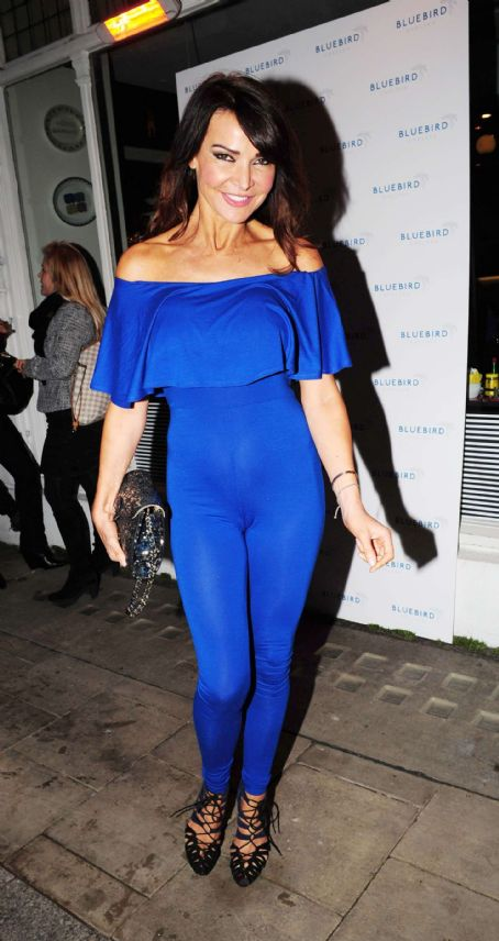 Lizzie Cundy Bluedird Chelsea Launch Party In London