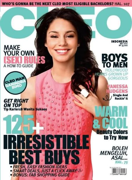 Vanessa Hudgens - Cleo Magazine Cover [Indonesia] (May 2011)