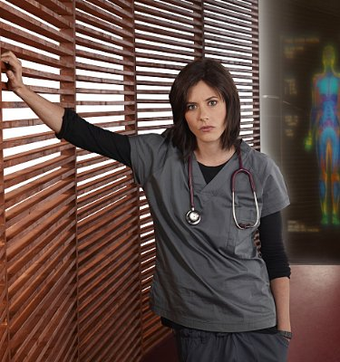 "Katherine Moennig - 2009 Fall TV Preview - ""Three Rivers"" Photo Gallery"