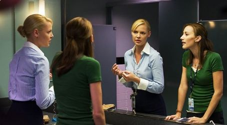 Bree Turner Katherine Heigl as Abby Richter and  as Joy in Columbia Pictures' The Ugly Truth.
