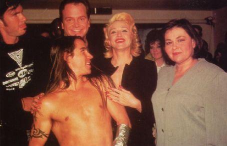 Anthony Kiedis and Madonna Ciccone