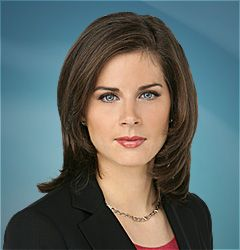 Erin Burnett Publicity shot of Erin