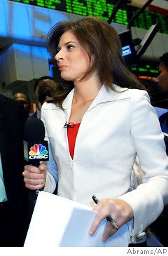 "Erin Burnett of ""Squawk on the Street"""