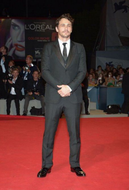 James Franco at Springbreakers Venice Premiere
