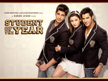 Alia Bhatt New Pictures from Student of the year 2012 movie