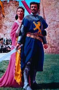 Guinevere Ava Gardner As  And Robert Taylor As Lancelot In Knights Of The Round Table (1953)