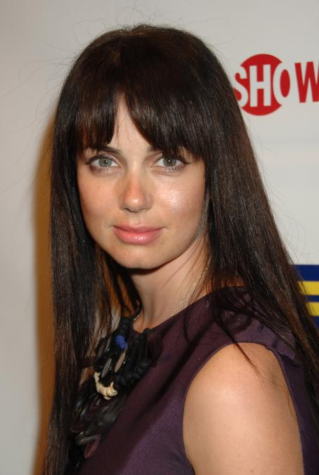 The L Word Mia Kirshner -  Party, The Factory, West Hollywood 01-06-2008