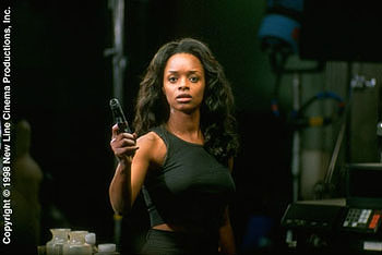 N'Bushe Wright N'Bushe Wright as Dr. Karen Jenson in New Line Cinema's Blade - 1998