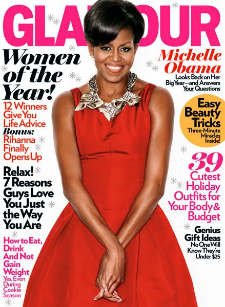 Michelle Obama - Glamour Magazine [United States] (December 2009)