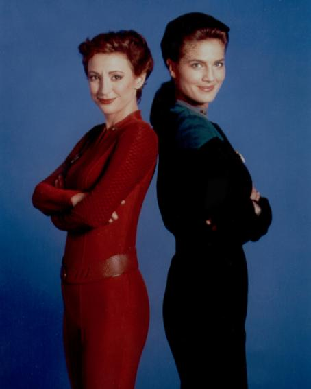Nana Visitor Terry Farrell - Featuring
