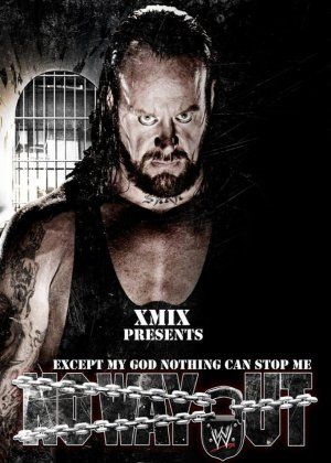 WWE No Way Out (2007) Poster