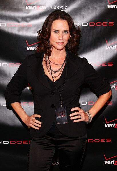 Amy Landecker Celebrities at the Verizon Launch of DROID in New York City