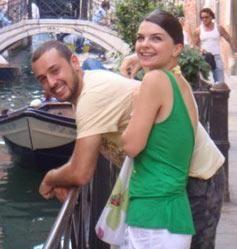 Ibrahim Kendirci and Pelin Karahan
