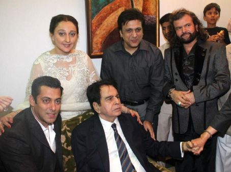 Govinda - Bollywood Stars At Dilip Kumar's 89th Birthday Party