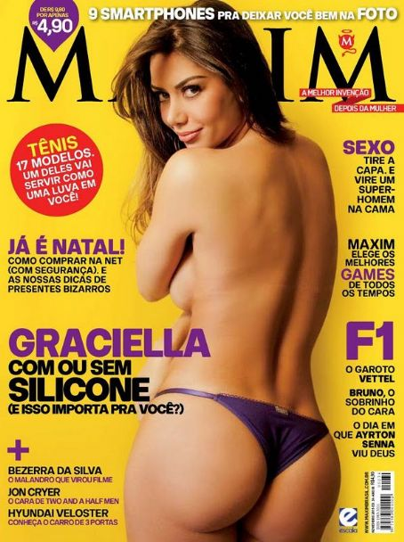Graciella Carvalho  - Maxim Magazine Pictorial [Brazil] (November 2011)