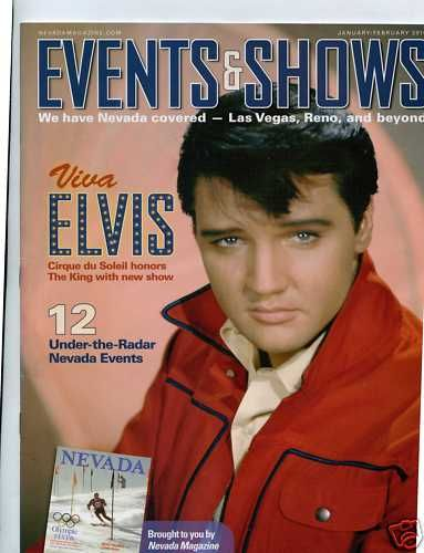Elvis Presley - Events & Shows Magazine [United States] (January 2010)