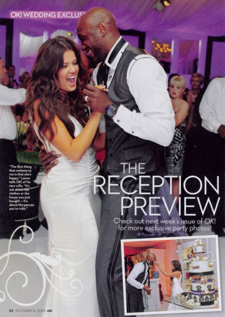 Lamar Odom OK! Magazine Pictorial September 2009 United States