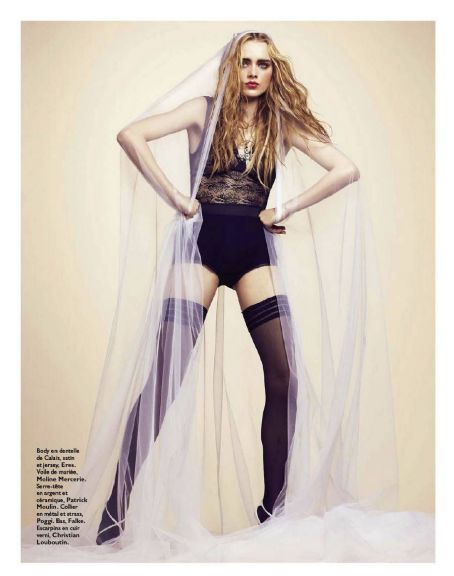 Eva Marie  Mulder Grazia France March 2012