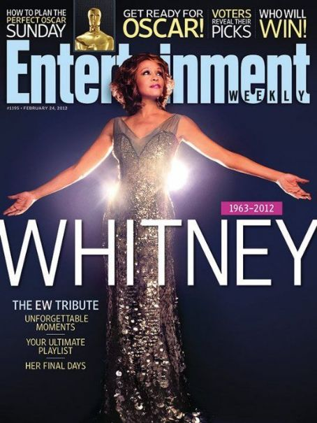 Whitney Houston - Entertaiment Weekly Magazine Cover [United States] (27 February 2012)
