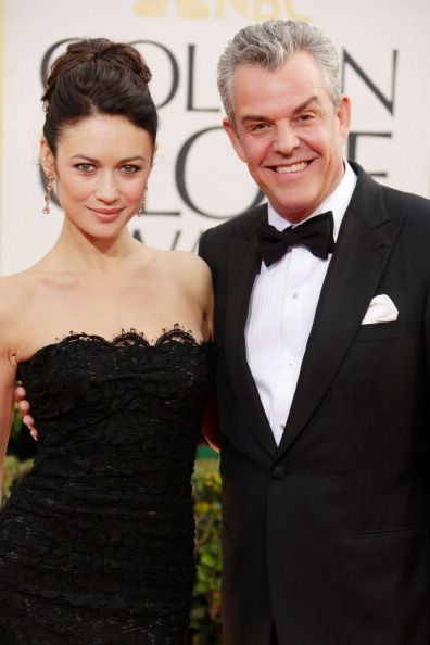 Danny Huston - Olga Kurylenko at the 2013 Golden Globe Awards