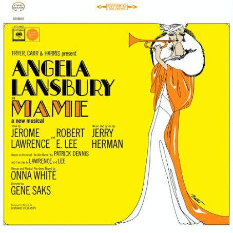 Jerry Herman LP JACKET FOR THE 1966 BROADWAY MUSICAL ''MAME''