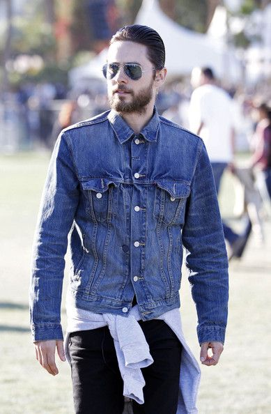 Jared Leto seen enjoying the sunshine at the Coachella festival