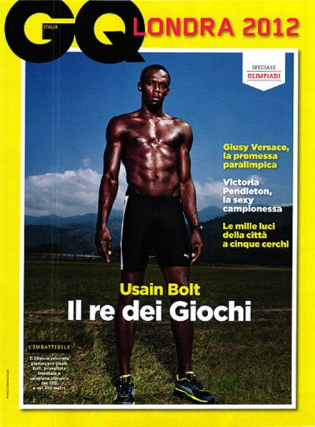 Usain Bolt - GQ Italy - August, 2012