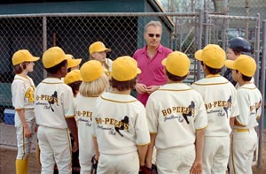 "Morris Buttermaker Billy Bob Thornton as Buttermaker in ""The Bad News Bears."""