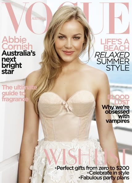 Abbie Cornish - Vogue Magazine [Australia] (December 2009)