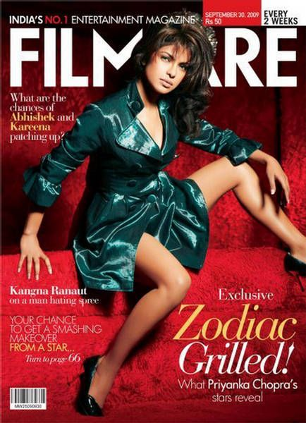 Priyanka Chopra - Filmfare Magazine [India] (30 September 2009)
