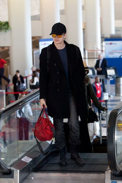 Hayden Christensen - At LAX Airport (April 22)