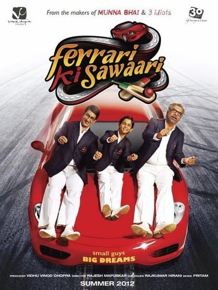 Boman Irani - Ferrari Ki Sawaari 2012 Movie latest posters