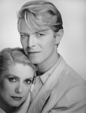 The Hunger Catherine Deneuve as Miriam and David Bowie as John in