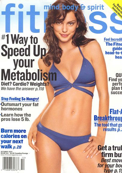 Catrinel Menghia - Fitness Magazine [United States] (October 2004)