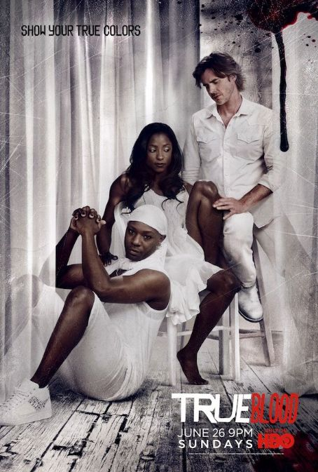 Rutina Wesley - True Blood Poster Season Four - ¨Show Your True Colors¨