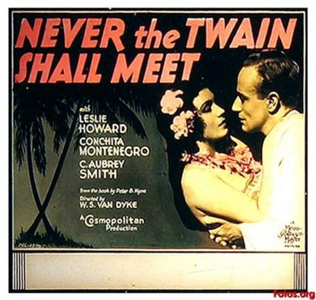 Never the Twain Shall Meet (1931) Poster
