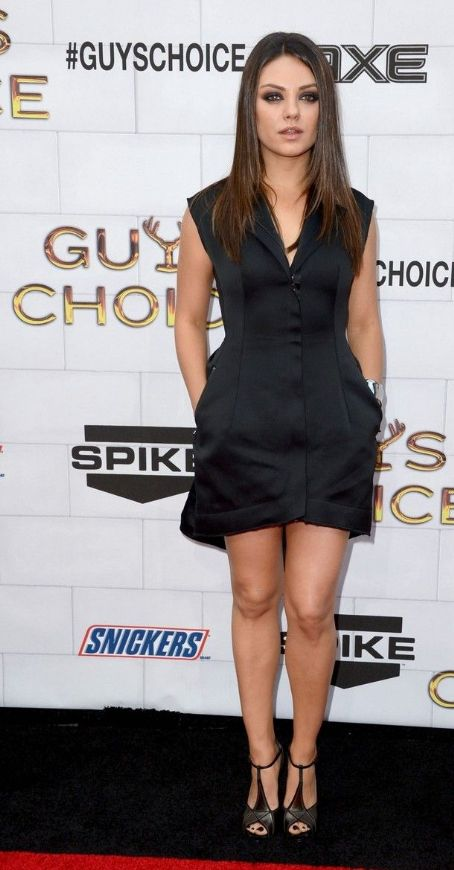 Mila Kunis: Spike TV's 2012 Guys Choice Awards held at Sony Pictures Studios