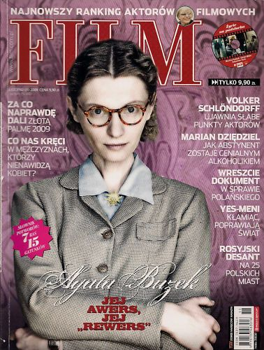 Agata Buzek - Film Magazine Cover [Poland] (November 2009)